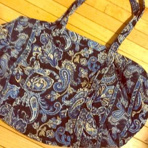"Vera Bradley medium duffel bag. 10""x20"""